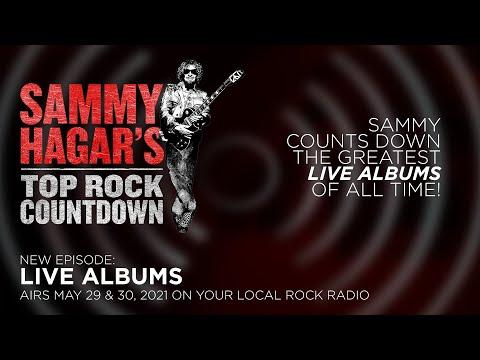 """Live Albums"" Sammy Hagar's Top Rock Countdown"