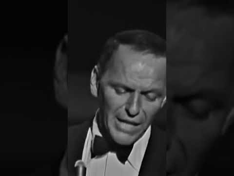 """Sinatra performing """"One For My Baby"""" in 1961 at London's Royal Festival"""