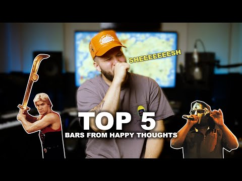 My Top 5 Bars From Happy Thoughts