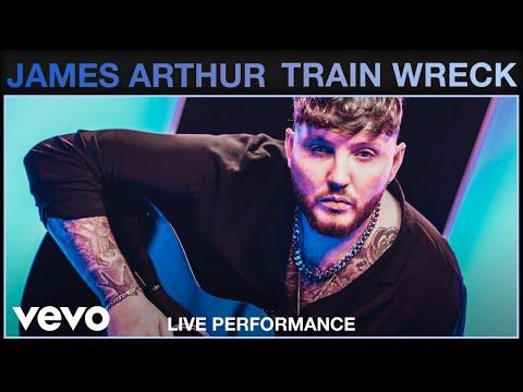 James Arthur - Train Wreck (Live)   Vevo Studio Performance