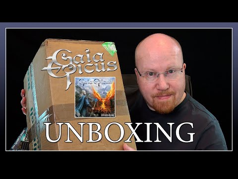 Gaia Epicus - unboxing Seventh Rising limited edition cd