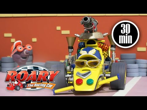 Maxi's Upgrade Disaster   Roary the Racing Car   Full Episodes   Cartoons For Kids