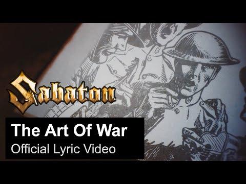 SABATON - The Art Of War (Official Lyric Video)