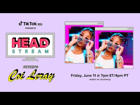Coi Leray - TikTok Headstream Live