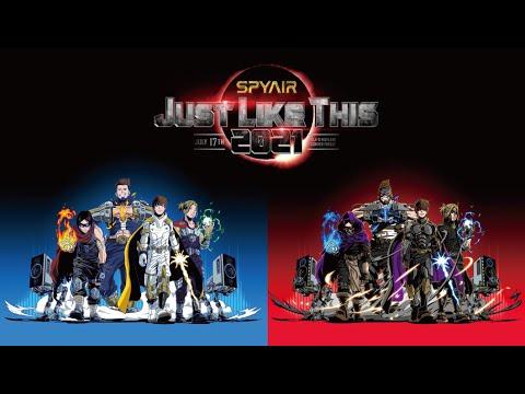 7/17 SPYAIR夏の恒例単独野外ライブ『JUST LIKE THIS 2021』開催!