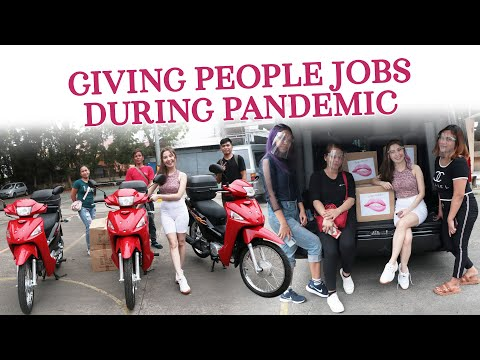 Giving Jobs During Pandemic (Motorcycle winners + product winners)