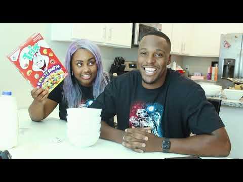 jamie / aaron / cereal taste test