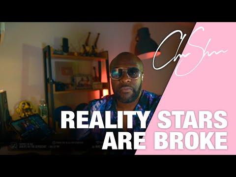Most reality show stars are broke   Club shada