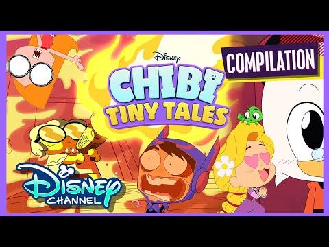 Chibi-est Chibis | Compilation | Chibi Tiny Tales | Disney Channel Animation