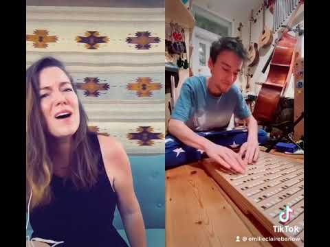 He Won't Hold You - mini cover #shorts TikTok duet with Jacob Collier on harpejji