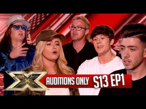 AUDITIONS ONLY! | EPISODE 1 | SERIES 13 | The X Factor UK