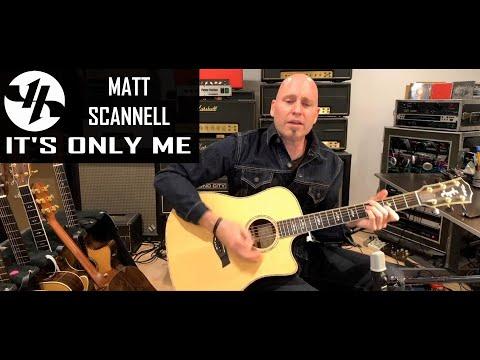 """It's Only Me"" Matt Scannell Vertical Horizon Acoustic 11-5-20"