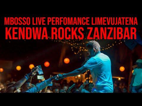 Mbosso live perfomance Limevujatena Kendwa Rocks ( Zanzibar )