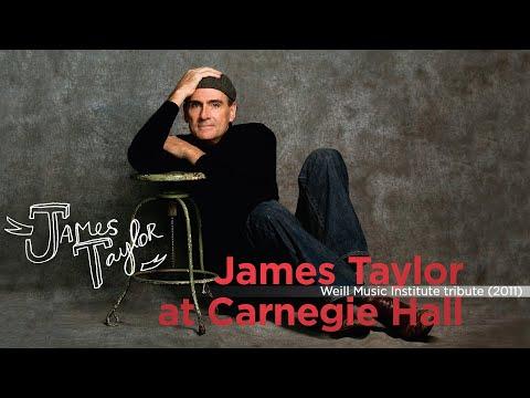 Bill Clinton - Speech (James Taylor - Live at Carnegie Hall, 4/12/2011)