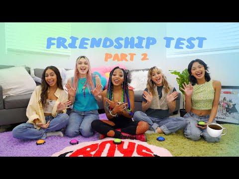 friendship test (part 2)!!!