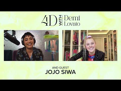 4D With Demi Lovato - Guest: JoJo Siwa