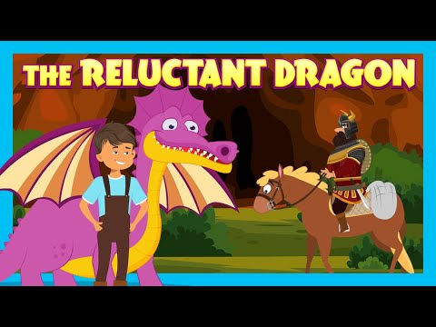THE RELUCTANT DRAGON   NEW ENGLISH KIDS STORIES   TIA & TOFU STORYTELLING   BEDTIME KIDS HUT STORIES