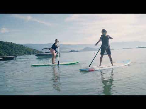Sina & Sofya Go Paddleboarding!