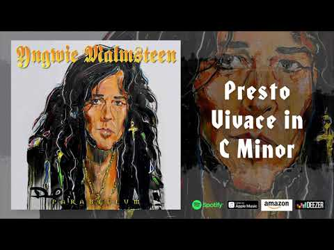Yngwie Malmsteen - Presto Vivace in #C Minor (Parabellum)