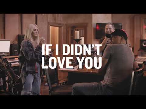 Jason Aldean & Carrie Underwood - If I Didn't Love You (Lyric Video)