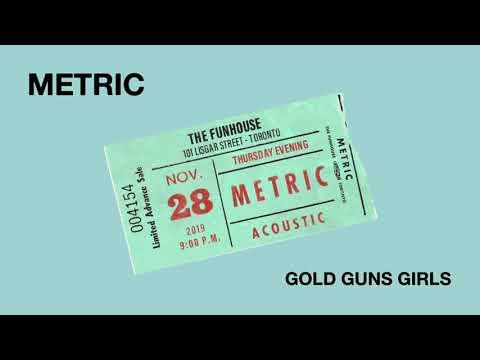 "METRIC - ""Gold Guns Girls"" - Live at The Funhouse - Volume 4"