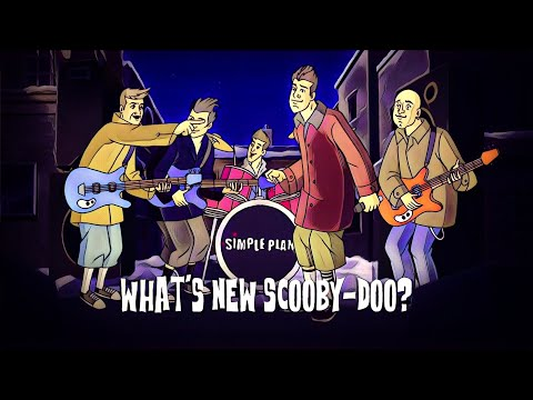 Simple Plan - What's New Scooby Doo? (Lyric Video)