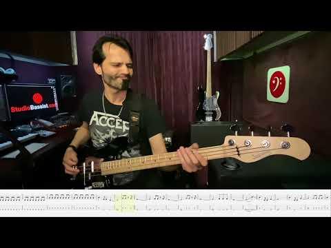 Accept - 07 Symphony Of Pain - Bass Play Along Video by Martin Motnik