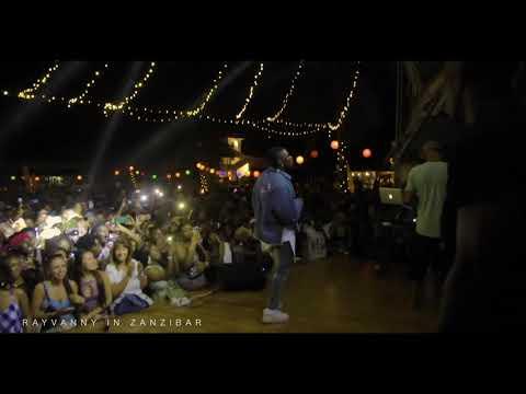 Rayvanny live performance Amaboko in Zanzibar Full moon Party