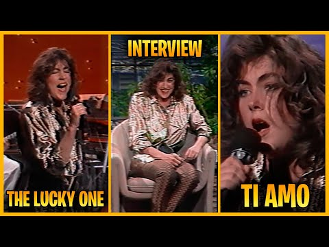 Laura Branigan - The Lucky One, Interview and Ti Amo - The Tonight Show (1984)