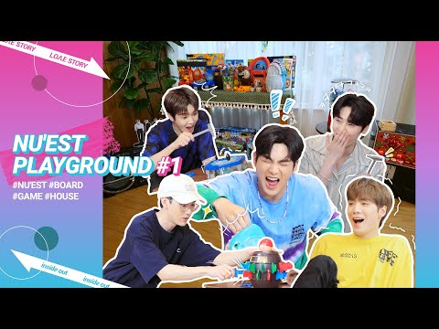 [L.O.Λ.E STORY: INSIDE OUT] EP 16. 게임 아지트! 오늘의 집 (NU'EST Playground) #1