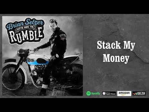 Brian Setzer - Stack My Money (Audio)