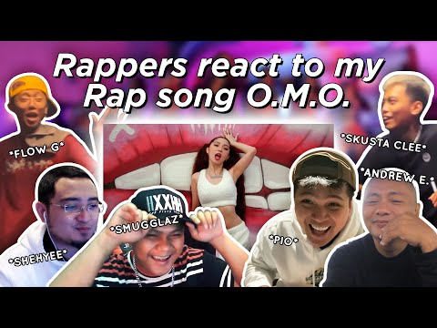 RAPPERS REACT TO MY RAP SONG ft. Skusta Clee, Smugglaz, Flow G, Shehyee, Pio and Andrew E.
