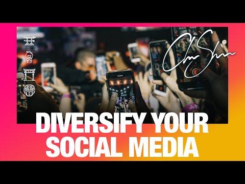 Diversify your content and don't rely on one platform | Club Shada