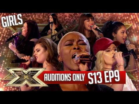 AUDITIONS ONLY - 6 CHAIR CHALLENGE - GIRLS! | SERIES 13 | EPISODE 9 | The X Factor UK