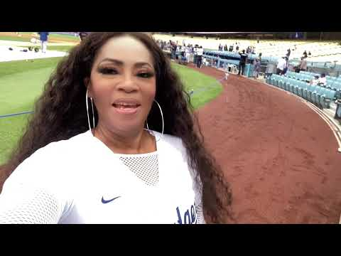 Ageless Pop R&B  Icon Jody Watley - Shares Her Dodgers Stadium National Anthem Experience