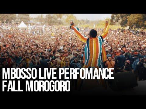 Mbosso live perfomance Fall Morogoro,Tanzania