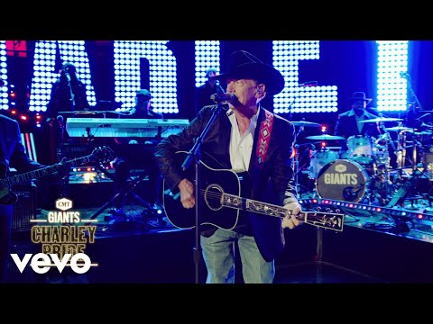 George Strait - Is Anybody Goin' To San Antone (Live From CMT GIANTS: Charley Pride)