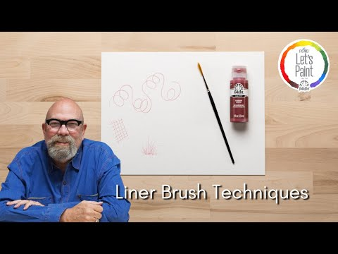 Liner Brush Techniques