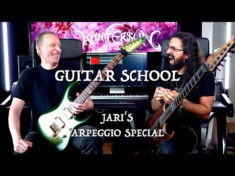 Wintersun Guitar School - Jari's Arpeggio Special