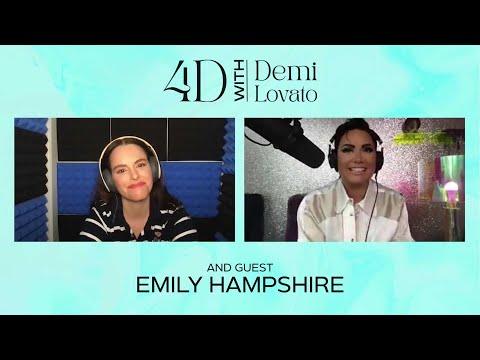 4D with Demi Lovato - Guest: Emily Hampshire