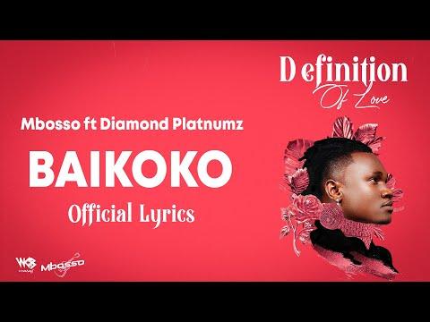 Mbosso ft Diamond Platnumz - Baikoko (Lyric Video)