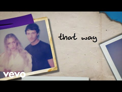 Tate McRae, Jeremy Zucker - that way (Lyric Video)