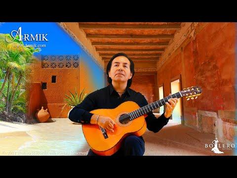 Armik - Letters From Paradise - OFFICIAL - (Nouveau Flamenco, Romantic Spanish Guitar Music)