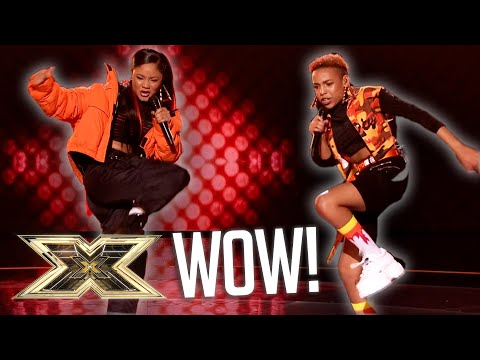 Acacia & Aaliyah 'Shutdown' the critics with Grime mega-mix   Series 15   The X Factor