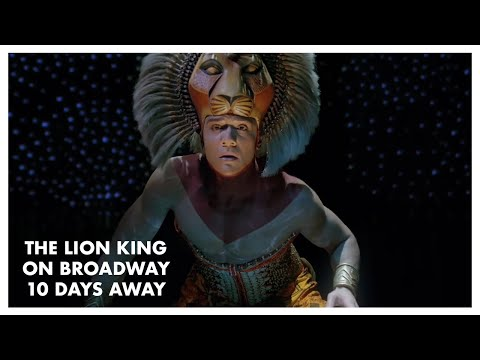 The Lion King Returns To Broadway in Ten Days