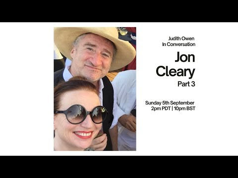 In conversation with @Jon Cleary Part 3