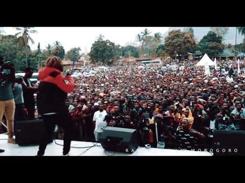 Rayvanny performance in Morogoro