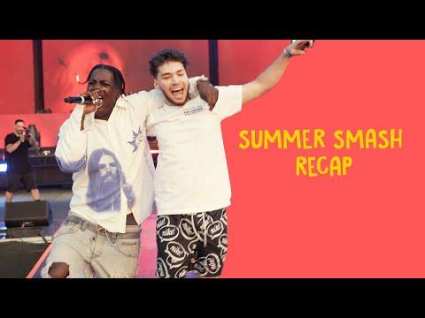 LYRICAL LEMONADE SUMMER SMASH RECAP Feat. Adin Ross, A$AP Rocky, & more