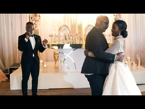 A Beautiful Father and Daughter Dance 😭❤️ - (Brian Nhira Weddings)