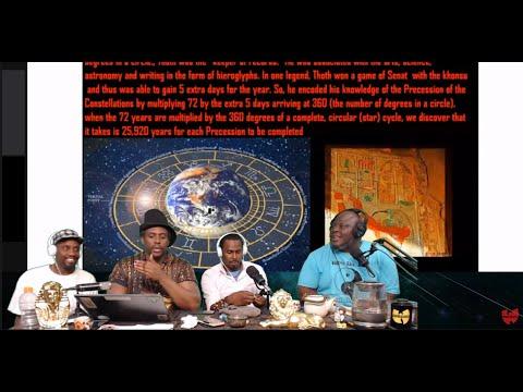 Santana Nottage, Tehuti, Menkheperra, Rasul, Number 70 Moses Torah Correlations - Killah Priest LIVE
